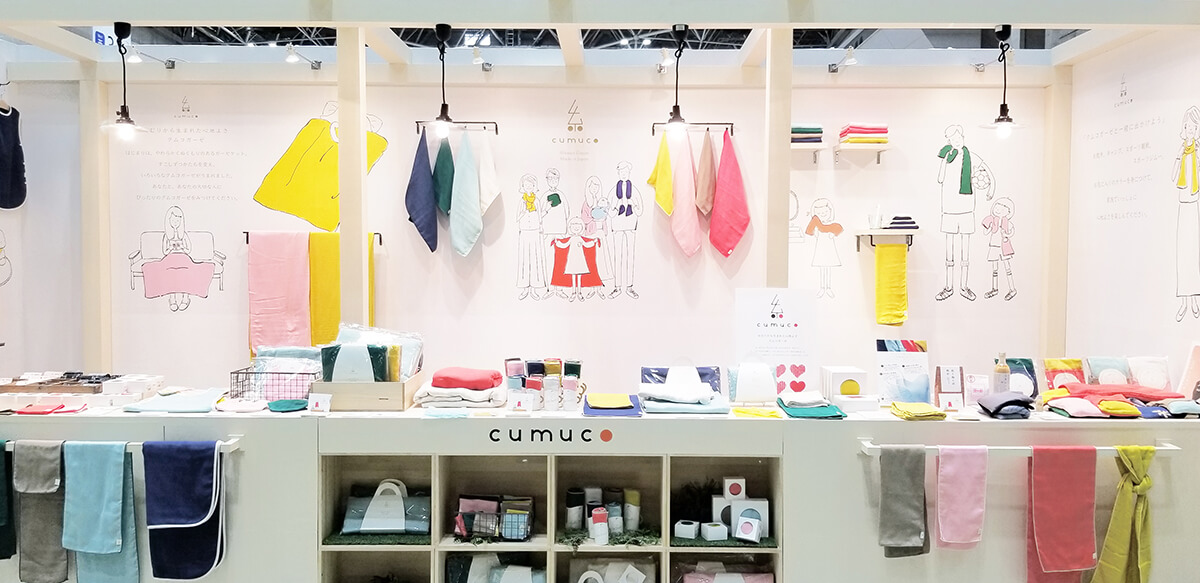 cumuco(クムコ)展示会