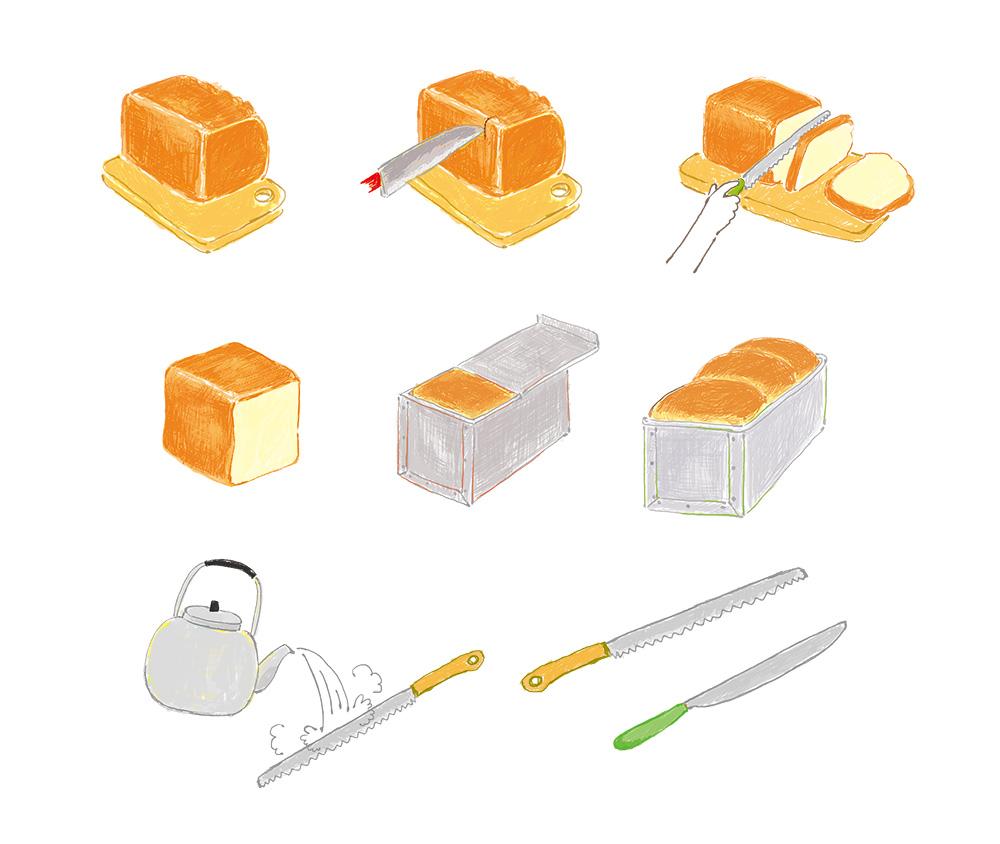 月刊fu 食パンの豆知識・レシピ